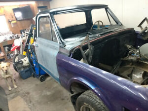 1969 c10 long bed project