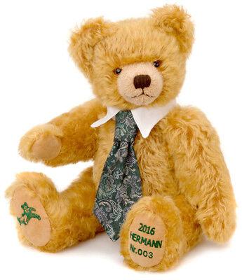 2017 Annual Teddy Bear by Hermann Spielwaren 15215-4 Coming Home