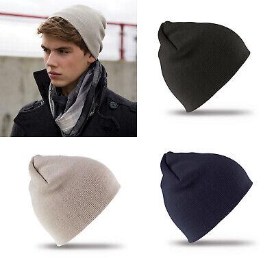Compiacente Risultato Inverno Essentials Pull-on Soft-feel Acrilico Cappello Rc044x-mostra Il Titolo Originale