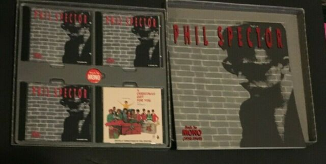 Phil Spector 4-CD Box Set Back To Mono COMPLETE Book Button ronettes crystals