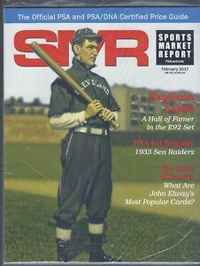 SMR-Sports-Market-Report-PSA-DNA-Guide-Magazine-NAP-LAJOIE-FEB-2017-NEW