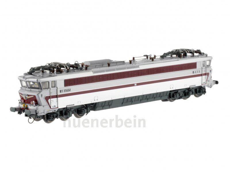 LS Models 10026 SNCF CC 40100 6achs E-Lok silber (inox) rot Ep3b-4a DC NEU+OVP