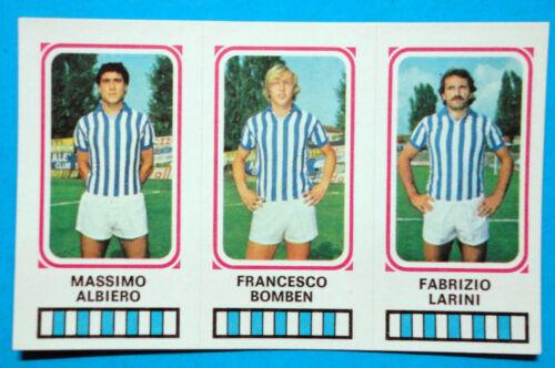 FIGURINA CALCIATORI PANINI 1978//79 SPAL n.465 NUOVA