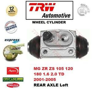 FOR MG ZR ZS 105 120 180 1.6 2.0 TD 2001-2005 REAR AXLE Left WHEEL CYLINDER