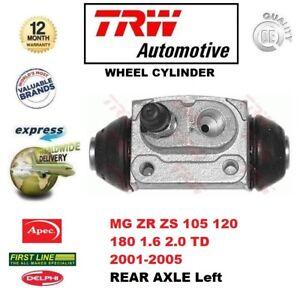 Per-MG-ZR-ZS-105-120-180-1-6-2-0-TD-2001-2005-Asse-Posteriore-Cilindro-Della-Ruota-a-sinistra