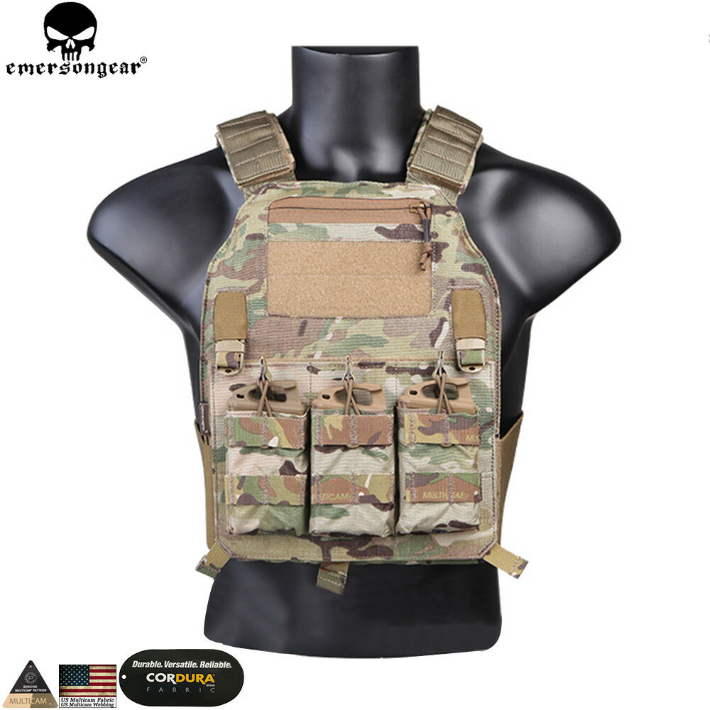 Tactical Vest Molle Plate Carrier Combat Military Airsoft Predective 500D nylon