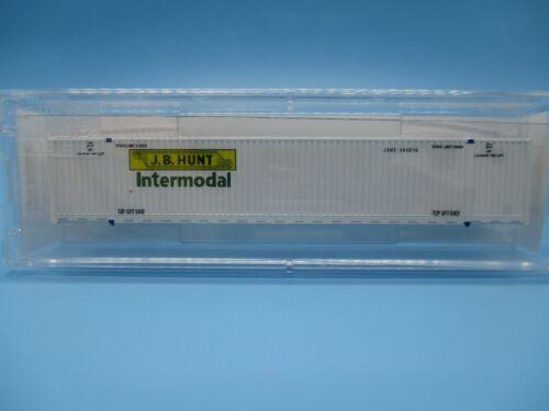 ROAD# JBHU 244096 MICRO TRAINS N SCALE 53/' CONTAINER J.B.HUNT INTERMODAL
