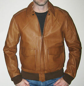 A2 Jacket Msrp Small895 Leather About Lauren Ralph Polo Bomber Size Tan Details Nn0wOZ8PkX