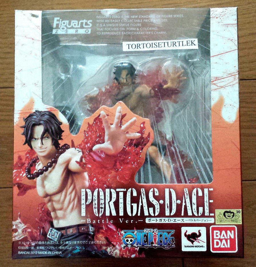 Bandai Figuarts Zero One Piece Ace Figura de batalla versión.