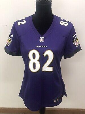 NFL Nike On Field Baltimore Ravens Womens Jersey #82 Torrey Smith Medium