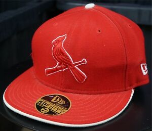 pretty nice 49388 ae78e Image is loading Rare-Vintage-NEW-ERA-St-Louis-Cardinals-59Fifty-