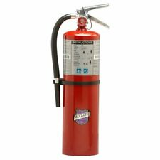 10 Lb Fire Extinguisher Dry Chemical Bc Rechargeable Purple K Ul Rating 80 Bc