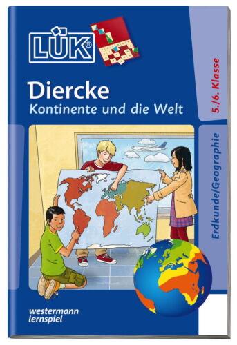 LÜK Buch Diercke Kontinente und die Welt ab 10 Jahren 4658