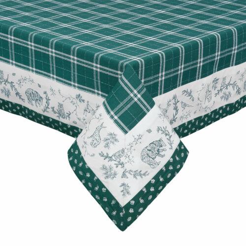 Tischdecke  Grün kariert  versch.Größen 100/% Baumwolle Clayre /& Eef