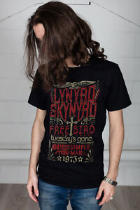 Official-Lynyrd-Skynyrd-Free-Bird-1973-Hits-Unisex-T-Shirt-Nuthin-Fancy-Band