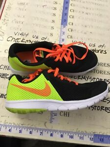 866794a94454 NIKE BOYS FLEX EXPERIENCE 5 GRADE SCHOOL SHOES 844995 002 SZ 4 WIDE ...