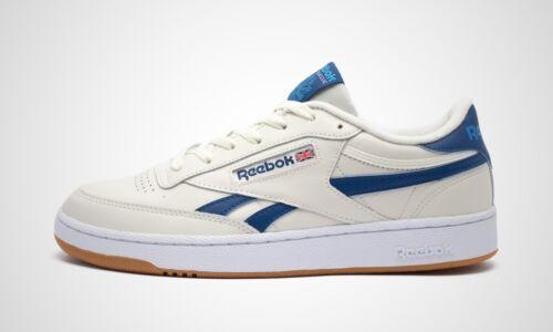 fw3598 NEUF dans le carton Reebok Club C Revenge blanc//bleu Art hommes Sneaker