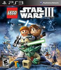 LEGO Star Wars III: The Clone Wars (Sony PlayStation 3, 2011)