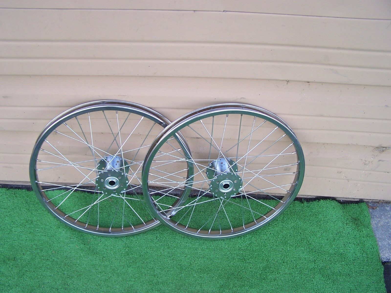 TRIKE WHEEL SETS  20 OR 24   CP STEEL 36H 14ga 5 8 HOLLOW-HUB NEW