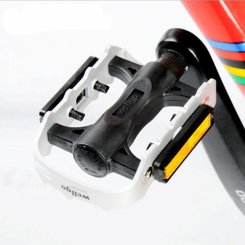 Wellgo 9//16 C25DU Alloy Metal Mountain Bike Bicycle MTB BMX Flat Pedals