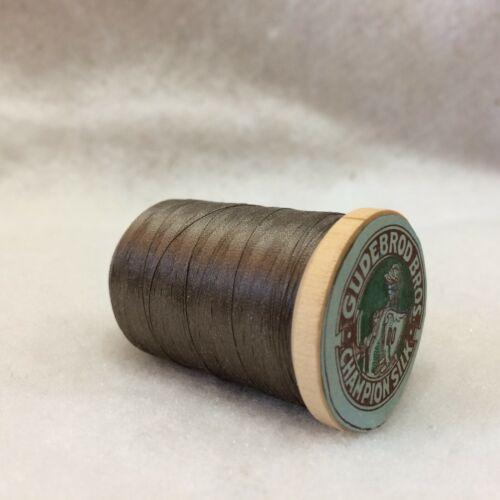 Utica//GUDEBROD Rod Wrapping Taille 00 dun Gray #603 fil de soie ~ Bobine 925 Yd environ 845.82 m