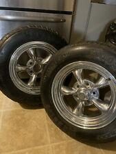 Rare Set Of 4 Torque Thrust Radial Wheels 15x7 Amp 17x12