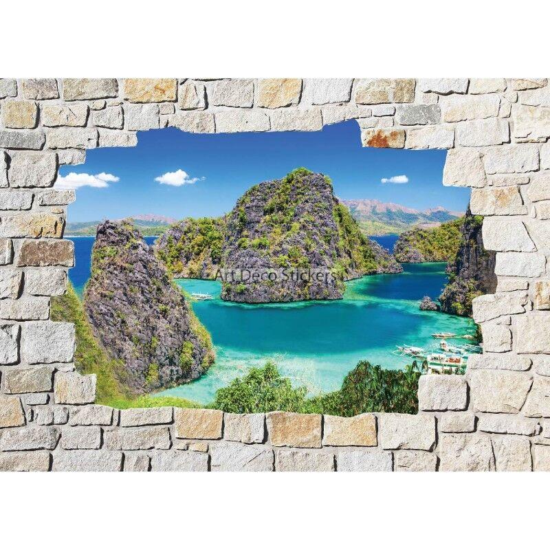 Adesivi parete murale di pietra Mare Mare Mare 8530 8530 8c82af