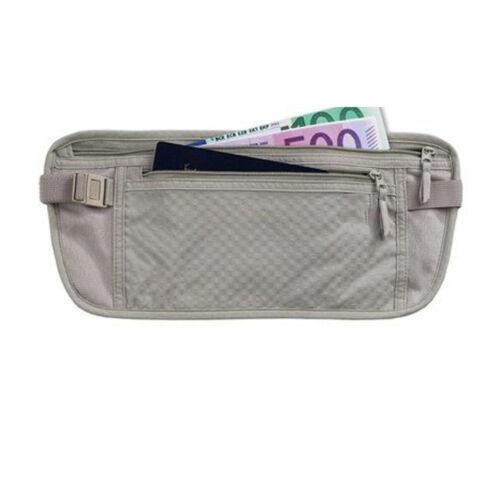 TRAVEL POUCH BAG MONEY PASSPORT ID WAIST HOLDER SECURITY CASE BELT HIDDEN HOLDER