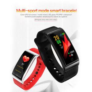 F4-Smartwatch-Pulsera-Inteligente-Reloj-Ritmo-Cardiaco-Presion-Arterial-IP67-IOS
