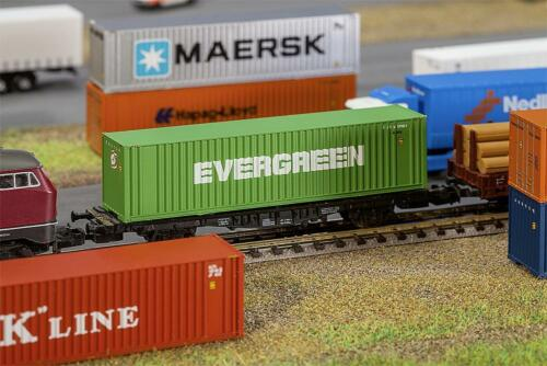 Art 40/' Hi-CUBE container Evergreen FALLER Mondi In Miniatura N 272843 1:160
