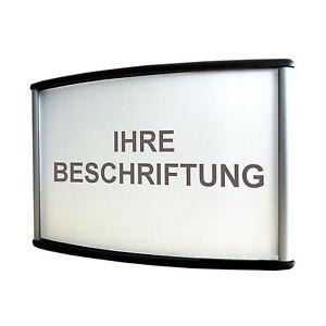 Business & Industrie Vereinigt Türschild Aluminium 10x6,5cm Namensschild Büroschild Plastikschild Schildsystem