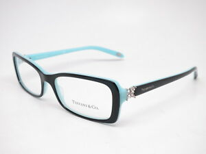 5583fd0c0c1a Tiffany   Co TF 2091-B 8055 Top Black   Blue Eyeglasses 53mm Rx-able ...