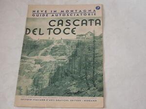 CASCATA-DEL-TOCE-NEVE-IN-MONTAGNA-GUIDE-AUTOSCIATORIE-ANNO-1939-NUMERO-7