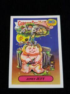 Garbage-Pail-Kids-30th-Anniversary-1a-Junky-Jeff-Adam-Bomb-039-s-Don-039-t-Push-My