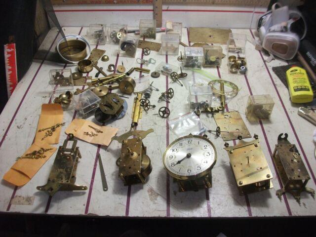 100s + Kundo Schatz kieninger kohrad + Anniversary 400 Day Clock parts