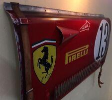 1950's Other Ferrari Grand Prix Race Car wall art Hood Panel vintage replica!!