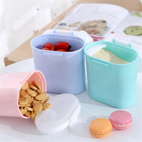 Baby Milk Storage Infants Portable Milk Powder Formula Dispenser Food Container