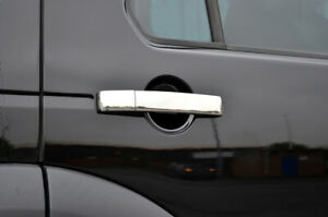 Chrome-Door-Handle-Trim-Set-Covers-To-Fit-Land-Rover-Discovery-3-4-2004-16
