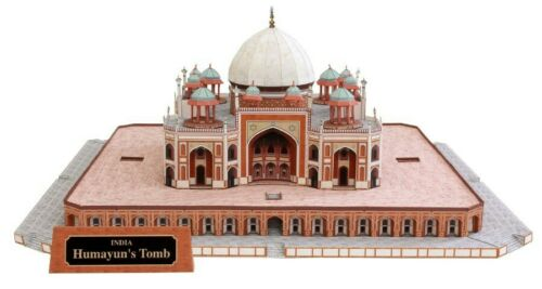 Brand New DIY The Famous Humayun/'s Tomb India 3D Paper Model Building Puzzle Kit