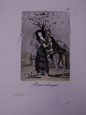 Dalí, Salvadore (1904-1989) - Kaltnadelradierung Al que sodomizan1977 45/200