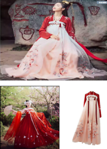 Chinese Ancient Tang  Women/'s Dance Dress Han Costume princess Cosplay Dresses