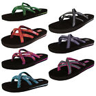 Teva Womens Olowahu Thong Flip Flop Sandal Shoes
