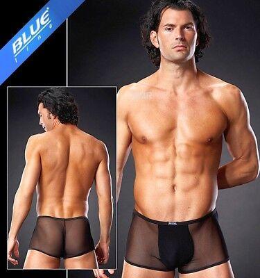 Trasparente Knack-po Pants Short Micro Mesh Nero Uni In L/xl 5739-mostra Il Titolo Originale Alleviare Reumatismi E Freddo