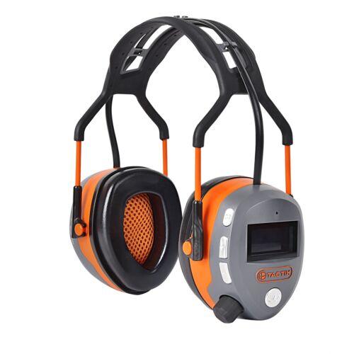 Tactix Bluetooth Earmuffs//LCD soft display//soft air cushions//MP3 connectivity