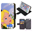 ALICE-IN-WONDERLAND-Mad-Hatter-Wallet-Flip-Phone-Case-iPhone-4-5-6-7-8-Plus-X thumbnail 3