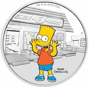 2019-THE-SIMPSONS-BART-SIMPSON-Silver-Proof-Coin