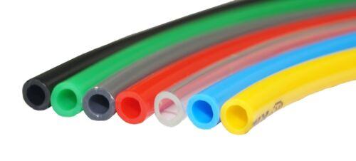 Farben und Größen 25m Polyethylen-Schlauch PE-Schlauch Pneumatikschlauch versch