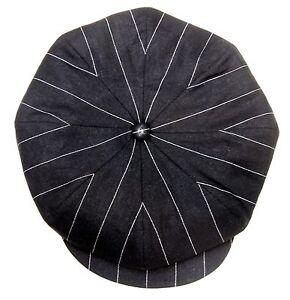 CASQUETTE-VINTAGE-RETRO-SPORT-TITANIC-noir-Rayure-IRLANDAISE-MARSEILLAISE-CAP