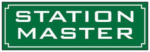 METAL-RAILWAY-SIGN-STATION-MASTER-GREEN