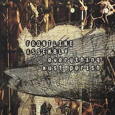 Front Line Assembly Everything Must Perish CD EP '01 (Out of Print)
